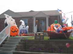 USA í kringum Halloween :)